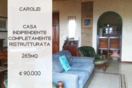 CASA INDIPENDENTE COMPLETAMENTE RISTRUTTURATA A CAROLEI